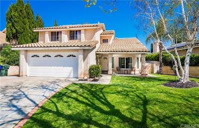 Castaic Single Family Home Active Under Contract: 27635 Firebrand Drive