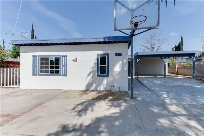 Sylmar Single Family Home For Sale: 14211 Dyer Street
