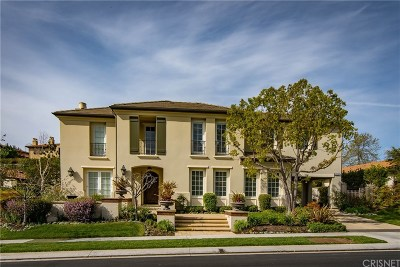 Calabasas Single Family Home Active Under Contract: 25580 Prado De Las Bellotas