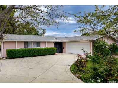 Woodland Hills Single Family Home Active Under Contract: 20417 Clark Street