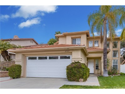 Castaic Single Family Home For Sale: 27927 Lassen Street