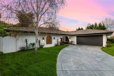 Calabasas CA Single Family Home Active Under Contract: $1,249,000