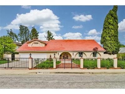 Tarzana Single Family Home For Sale: 3882 Corbin Avenue