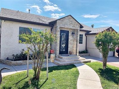 Reseda Single Family Home For Sale: 18754 Covello Street