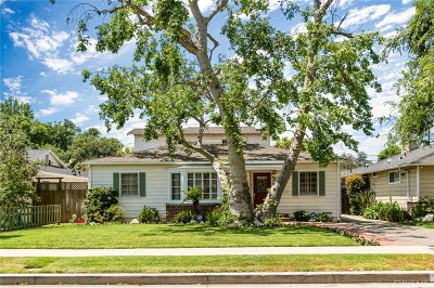 Sherman Oaks Single Family Home For Sale: 5009 Varna Avenue