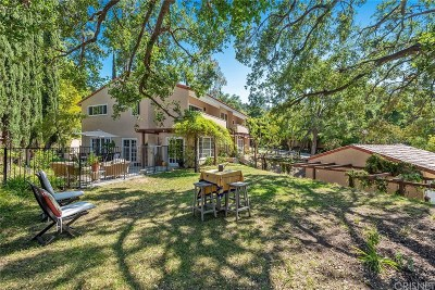 Calabasas Single Family Home For Sale: 23590 Park Belmonte