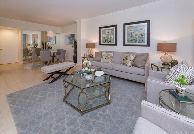 Los Angeles County Condo/Townhouse For Sale: 10433 Wilshire Boulevard #405