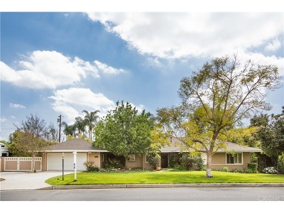 Northridge Single Family Home For Sale: 19116 Liggett Street