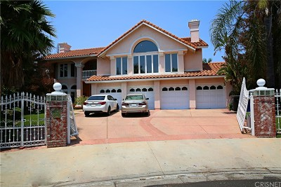 Chatsworth Single Family Home Active Under Contract: 11069 Baile Avenue