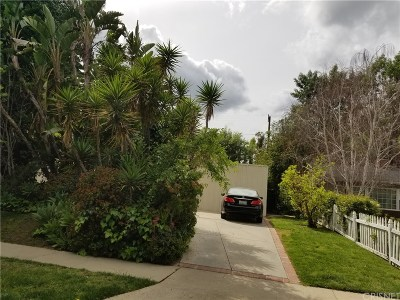 Encino Single Family Home For Sale: 4907 Valjean Avenue