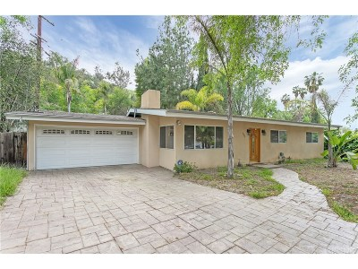 Woodland Hills Single Family Home For Sale: 4801 Excelente Drive