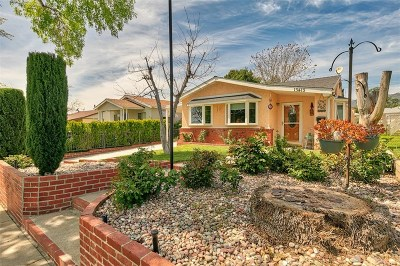 Sylmar Single Family Home Active Under Contract: 13413 Herron Street