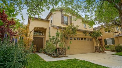 Stevenson Ranch Single Family Home For Sale: 26347 Mitchell Place