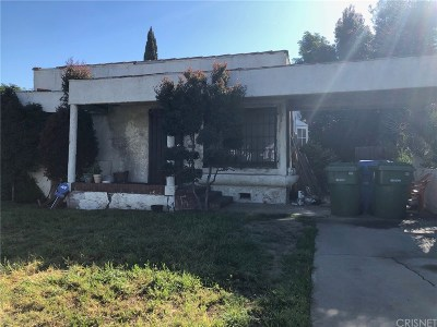 Los Angeles Single Family Home Active Under Contract: 9638 South Hobart Boulevard