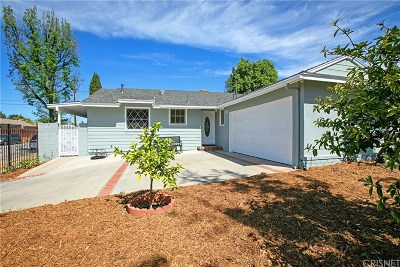 North Hollywood Single Family Home Active Under Contract: 12663 Arminta Street