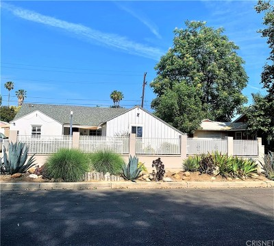 Northridge Single Family Home For Sale: 8168 Andasol Avenue