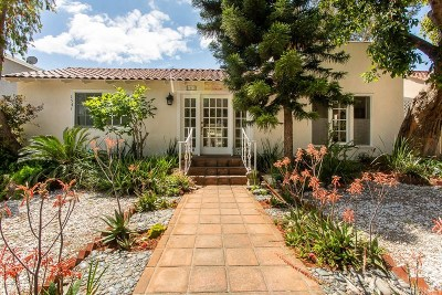Hollywood Hills Single Family Home Active Under Contract: 1541 North Stanley Avenue