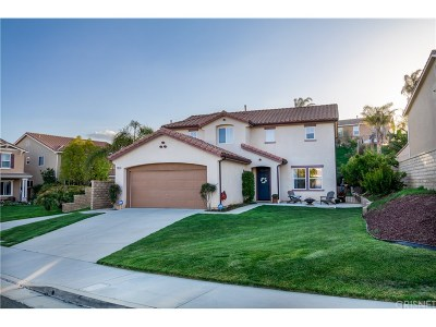Castaic Single Family Home Active Under Contract: 29615 Teasedale Place