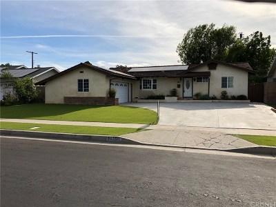 Granada Hills Single Family Home Active Under Contract: 10350 Sophia Avenue