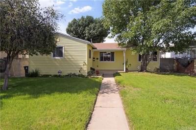 San Fernando Single Family Home Active Under Contract: 11023 Laurel Canyon