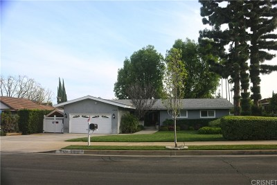 Granada Hills Single Family Home Active Under Contract: 17526 Index Street