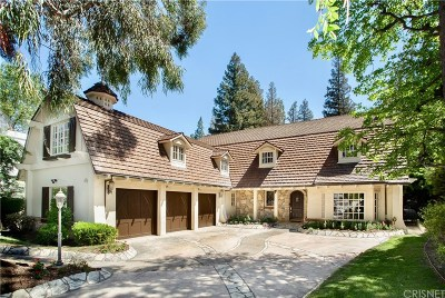 Woodland Hills Single Family Home For Sale: 4538 Westchester Drive