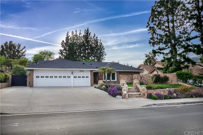 Granada Hills Single Family Home For Sale: 12153 Nugent Drive