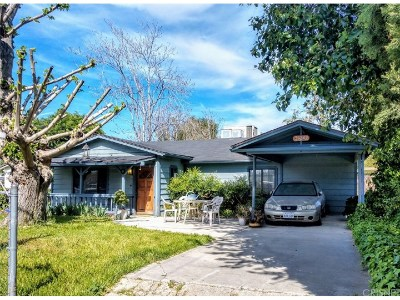 Newhall Single Family Home Active Under Contract: 25242 De Wolfe Road