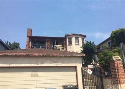 Los Angeles Single Family Home For Sale: 1470 Kurtz Avenue