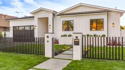 Sherman Oaks Single Family Home For Sale: 5011 Stern Avenue