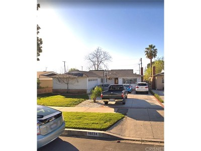 Granada Hills Single Family Home Active Under Contract: 16834 Lahey Street
