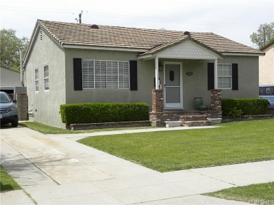 Burbank Single Family Home For Sale: 405 South Glenwood Place