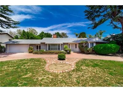 Northridge Single Family Home Active Under Contract: 17629 Osborne Street