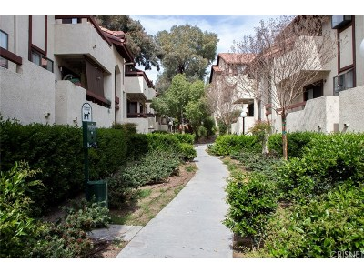 Canyon Country Condo/Townhouse For Sale: 18141 American Beauty Drive #148