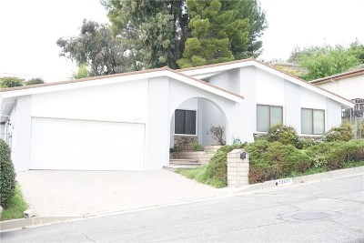 Granada Hills Single Family Home For Sale: 12571 Henzie Place