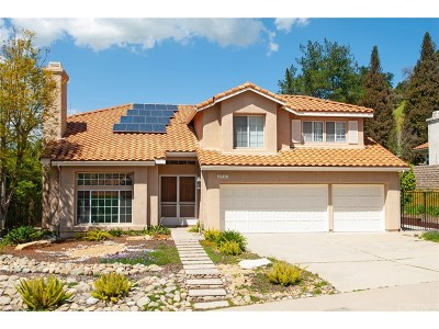 Agoura Hills Single Family Home For Sale: 27311 Park Vista Road