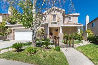 Stevenson Ranch Single Family Home For Sale: 26627 Brooks Circle