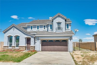 Palmdale Single Family Home For Sale: 4701 Stargazer Place