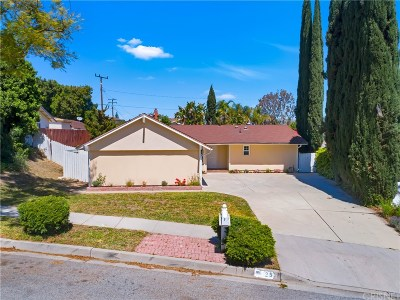 Simi Valley Single Family Home For Sale: 25 Washburn Street