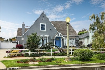 Los Angeles County Single Family Home Active Under Contract: 10463 Tennessee Avenue