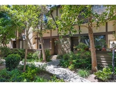 Chatsworth Condo/Townhouse Active Under Contract: 21237 Lassen Street #2