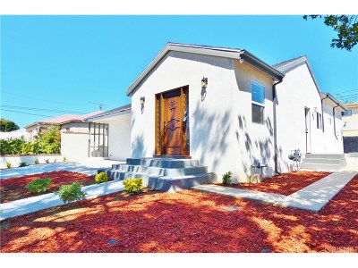 Panorama City Single Family Home For Sale: 15129 Burton Street
