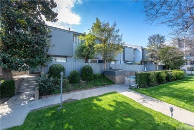 Studio City Condo/Townhouse For Sale: 4333 Whitsett Avenue