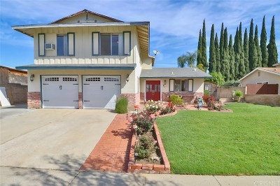 Simi Valley Single Family Home For Sale: 2415 Pierce Court