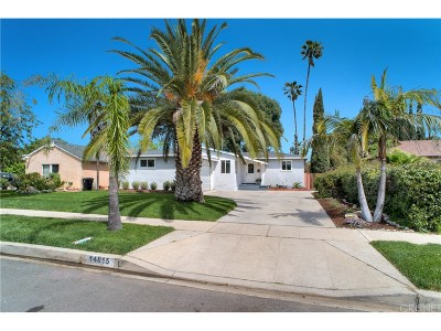 North Hills Single Family Home Active Under Contract: 14815 Needles Street
