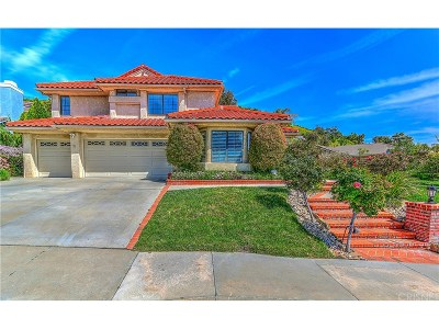 West Hills Single Family Home Sold: 23915 Strathern Street