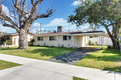 Azusa Single Family Home For Sale: 17826 East Woodcroft Street