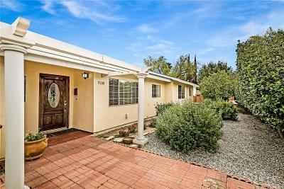 Northridge Single Family Home For Sale: 9700 Wilbur Avenue