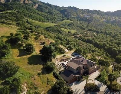Calabasas Single Family Home Sold: 23722 Summit Drive
