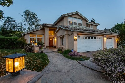 Agoura Hills Single Family Home For Sale: 3810 Parkview Court